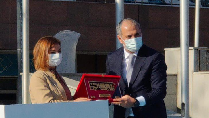 Anadolu Isuzu'nun COVID-19 virüsüne karşı geliştirdiği güvenli otobüsleri Safranbolu yollarında