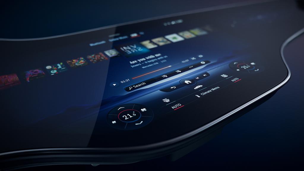 Bu görsel boş bir alt niteliğe sahip; dosya adı Mercedes-Benz-MBUX-Hyperscreen-2.jpg