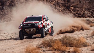 Toyota Gazoo Racing 2021 Dakar Rallis'ni podyumda tamamladı