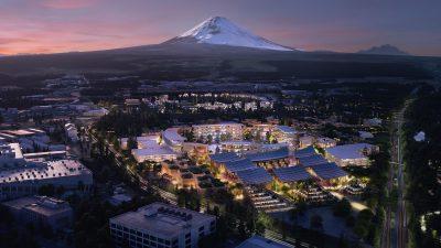 Toyota geleceğin şehrinin inşasına başladı