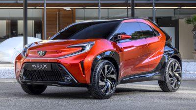 Goodyear'dan, Toyota'nın Aygo X Prologue modeli için konsept lastik