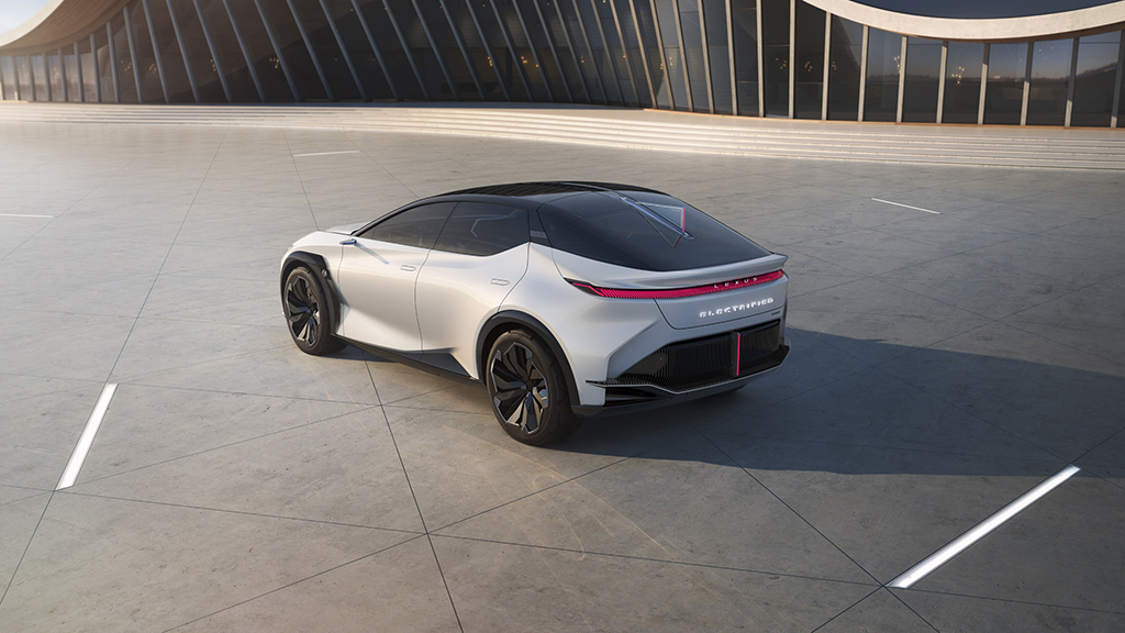Bu görsel boş bir alt niteliğe sahip; dosya adı Lexus-LF-Z-Electrified-2.jpg