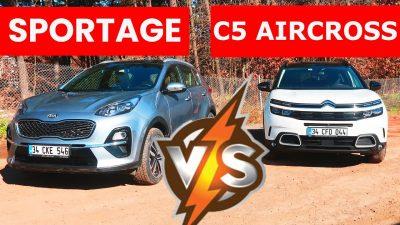 2020 Kia Sportage vs 2020 Citroen C5 Aircross