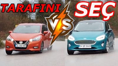 Ford Fiesta vs Yeni 2019 Nissan Micra