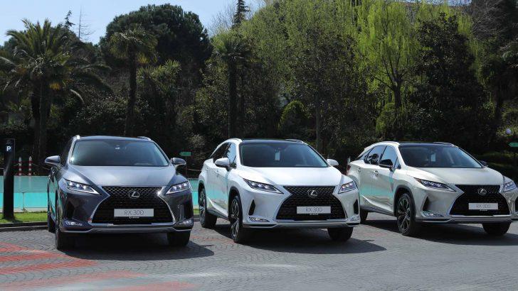 Dünyanın ilk premium SUV'u Lexus RX, Enterprise Türkiye filosunda!