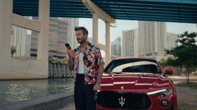 Maserati ve Beckham'dan iş birliği