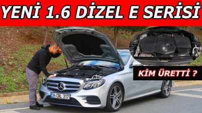 Mercedes E Serisi 1.6 dizel 9 G-Tronic | Renault Motoru mu? | Performansı nasıl?