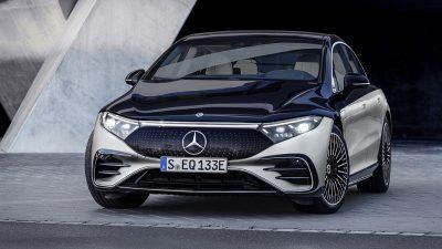 Mercedes-EQ markasının lüks sınıftaki ilk elektrikli otomobili EQS tanıtıldı