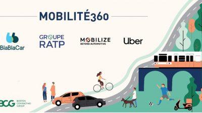 Blablacar, Mobilize, ratp ve Uber güçlerini birleştirdi
