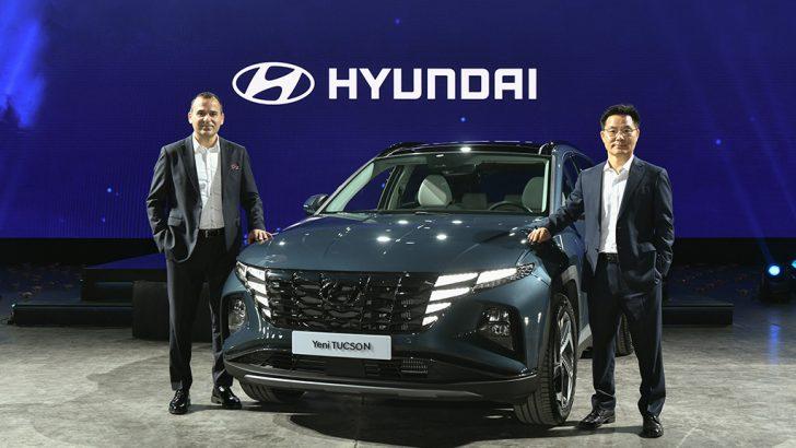 Yeni Hyundai Tucson ışığıyla fark yaratmaya geldi