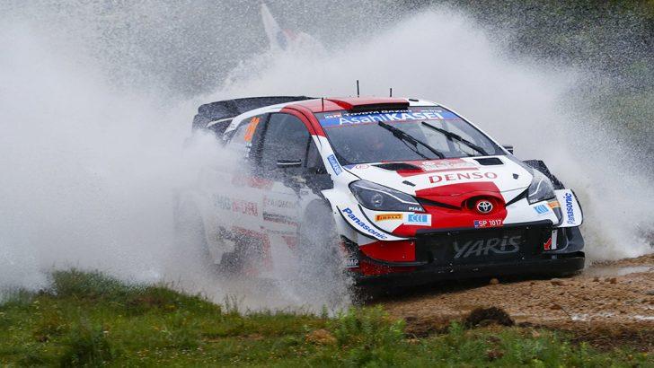 Toyota İtalya Sardunya Rallisi'nde ilk iki sırayı aldı