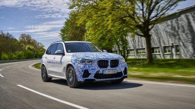 BMW i Hydrogen NEXT'in yol testleri başladı