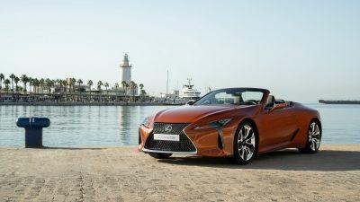 Dünyanın En Güzel Üstü Açılan Otomobili' Lexus LC 500 Convertible Türkiye'de