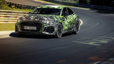Audi RS 3'ten rekor