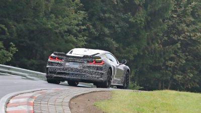 2023 Corvette Z06'nın testleri yarıda kaldı