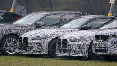 BMW M4 CSL'nin özel ön ızgarasına bir göz atın
