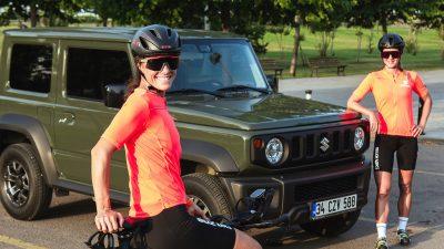 Suzuki kadın bisiklet takımı, 24 saat süren dayanıklılık yarışının birincisi oldu!