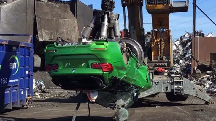 Özel BMW M3 Touring çalıntı parçalardan yapıldığı için imha edildi