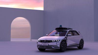 Hyundai ve Motional IONIQ 5 Robotaxi'yi geliştirdi