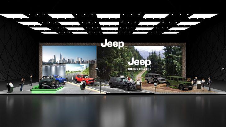 Jeep® Autoshow'da 80 Yıl Özel versiyonlarıyla yerini aldı