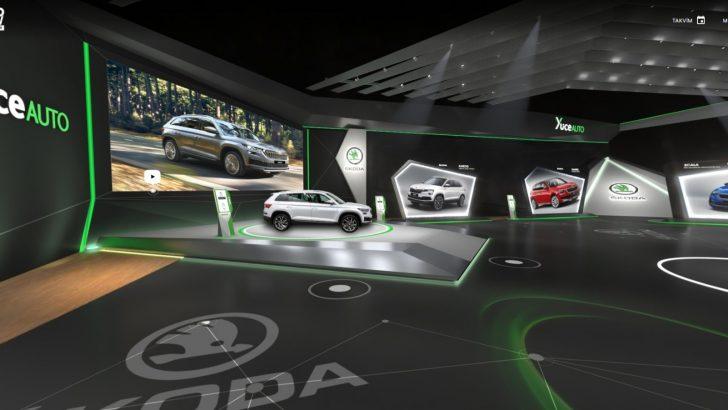 Yenilenen Kodiaq ve Octavia Scout Autoshow Mobility Fuarı'nda yerini aldı