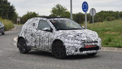 Toyota'nın Minik 2022 Aygo'su Güney Avrupa'da kameralara yakalandı