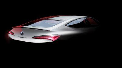 Acura, yeni Integra için bazı fotoğraflar paylaştı