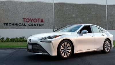 Toyota Mirai Guinness Dünya Rekorunu kırdı